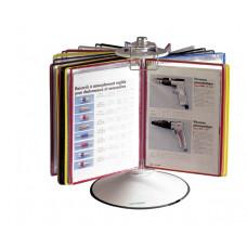 Подставка информационная (металл) А4 на 50 демопанелей (444509)