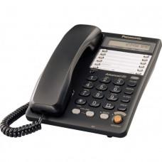 Телефон PANASONIC KX-TS2365UAB (черный корпус)