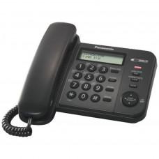 Телефон PANASONIC KX-TS2356UAB (черный корпус)