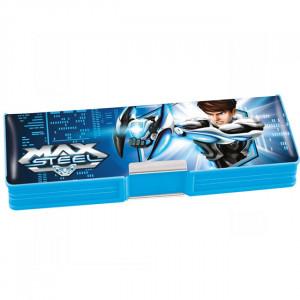 Пенал пластиковый 2 отд KITE 630 Max Steel