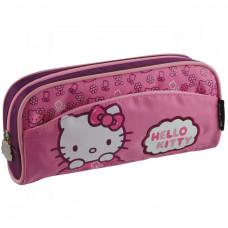 Пенал мягкий 3 отд KITE 649 Hello Kitty-1