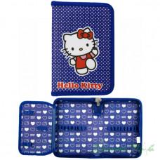 Пенал мягкий 1 отд с отворотом KITE 621 Hello Kitty-3