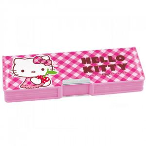 Пенал пластиковый 2 отд KITE 630 Hello Kitty