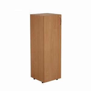 Пенал-шкаф для документов закрытый (350х347х1103) мм БЮ510/511 яблоня локарно