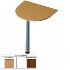 Секция приставная радиусная для стола (60х70х1,6) см (БЮ205)