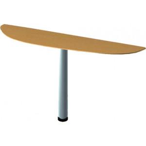 Секция приставная радиусная для стола (60х70х1,6) см (БЮ199)