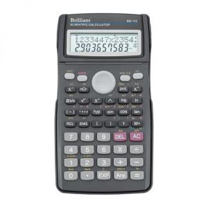 Калькулятор BRILLIANT BS-115 10 разр 80 x 156 x 14 мм научный