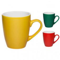 Чашка керамическая, белая КВИН (350 мл.)