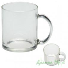 Чашка стеклянная ФРОСТ (300 мл.)