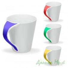 Чашка керамическая, цветная СИМОНА (300 мл.)