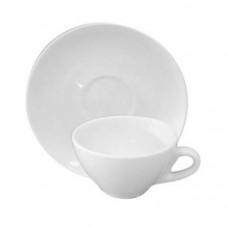 Чашка с блюдцем, белая 89081061 (80 мл.)