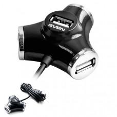 Концентратор USB SVEN HB-012 black