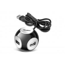 Концентратор USB SVEN HB-444 black