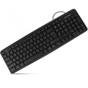 Клавиатура CROWN CMK-02 USB Black
