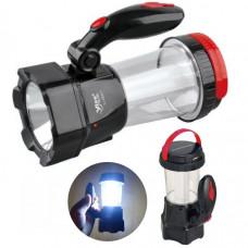 Фонарь LED Yajia 5837 (аккумулятор, 12 часов, кемпинговый)