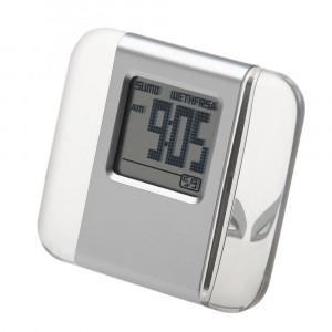 Часы настольные Nobrand 90300386 (пластик, серый)