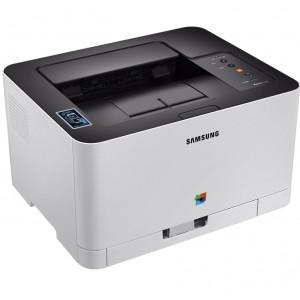 Принтер лазерный SAMSUNG SL-C430W c Wi-Fi (SS230M)
