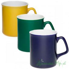 Чашка керамическая, цветная ДЖОКЕР (310 мл)