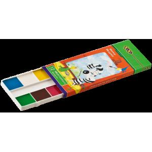 Краски акварельные (без кисти) ZIBI, 12 цветов (ZB.6501)