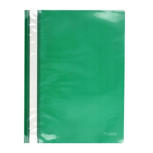 Скоросшиватель пластик. с прозр. верхом А4 (глянец) ассорти AXENT 120/150 мкм (1317-25-A)