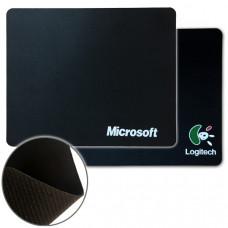 Коврик для мыши тканевый 180 х 220 мм Logitech/Microsoft черный