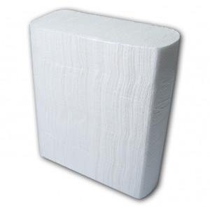 Полотенца-вкладыши Z-образ 2-слой BUROCLEAN белые 24 х 21 см (200 шт) (10100110)