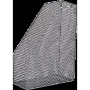 Лоток вертик металл BuroMax 80 х 230 х 300 мм серебро  (BM.6260-24)