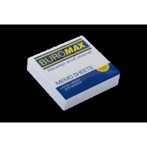 Бумага для записей белая клеен 80 х 80 х 20 мм Buromax Jobmax (BM.2206)