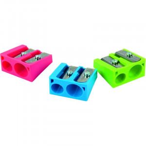 Точилка пластиковая KUM (два отверстия: на 8 и 11 мм) (410K)