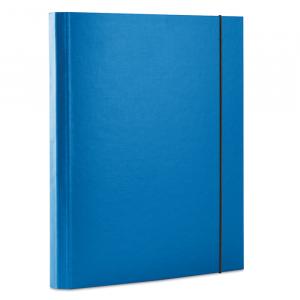 Папка на резинке картон (A4) Donau 40 мм синяя (2076001PL-10)