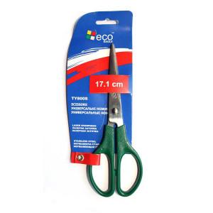 Ножницы офисные 171 мм (пластиковые ручки) EAGLE (TY800S)