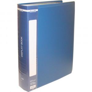 Папка с файлами 100 ф (А4) Buromax (в боксе) синяя (BM.3633-02)