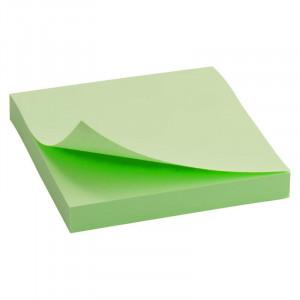 Блок стикеров 75 х 75 мм 100 шт Axent пастельный цвет, зеленый (D3314-02)
