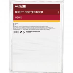 Файл глянцевый A4+ 20 мкм Axent вертик европерф (100 шт) (D1003)