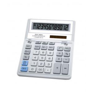 Калькулятор CITIZEN SDC-888 XWH 12 разр 158 x 203,2 x 31 мм корп. белый