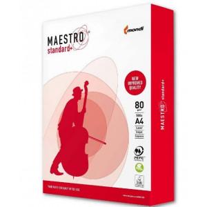 Бумага офисная A4 80 г/м кв класс B 161% Maestro Standard Plus 500 л