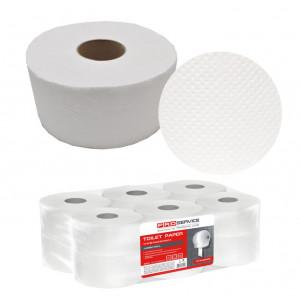 Бумага туалетная 1слойн PRO Service целлюлоз белая 160 м, 1280 л (32760650)