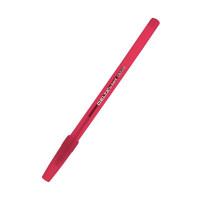 Ручка шариковая одноразовая 1,0 мм Axent красная (аналог Round Stic) (DB2055-06)