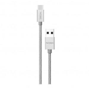 Дата кабель USB 2.0 – USB Type-C Nomi DCM 30c (316194) 3.0 м. серебристый