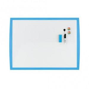 Доска сухостираемая 43 х 58,5 см Rexel JOY магнитно-маркерная c синей рамой (2104176)