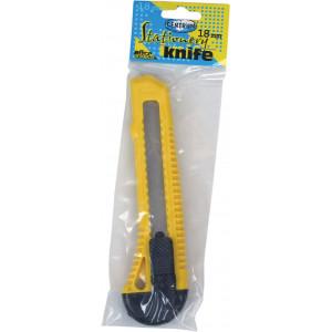 Нож канцелярский большой Centrum 18 мм (80136)
