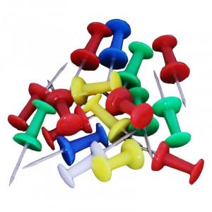 Кнопки-гвоздики цветные 30 шт NORMA 4840