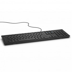 Клавиатура проводная Dell KB216 RUS Black (580-ADGR) USB