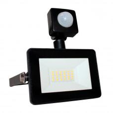 Прожектор светодиодный Ultralight SPG 10 PIR, Slim, 6400K, IP65, черный