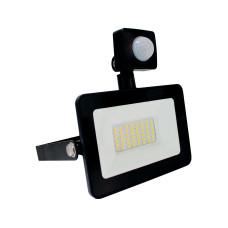 Прожектор светодиодный Ultralight SPG 20 PIR, Slim, 6400K, IP65, черный