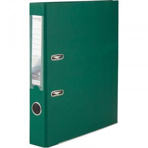 Регистратор 5 см А4 Axent 1стор покрыт, метал окант, темно-зеленый (D1713-23P)