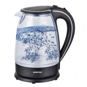 Чайник AURORA AU 3406 (3406AU) (1,7л., 1850-2200 Вт, стекло)