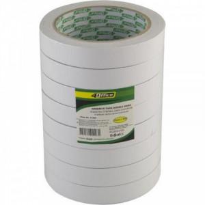 Скотч 2сторон 18 мм х 20 м 4Office (бумаж основа) (4-385)