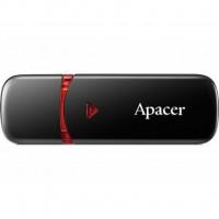 Флешка 16GB Apacer AH333 black USB 2.0 (AP16GAH333B-1)