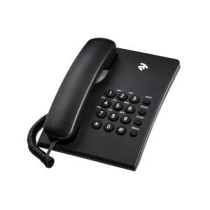 Телефон проводной 2E AP-210 Black